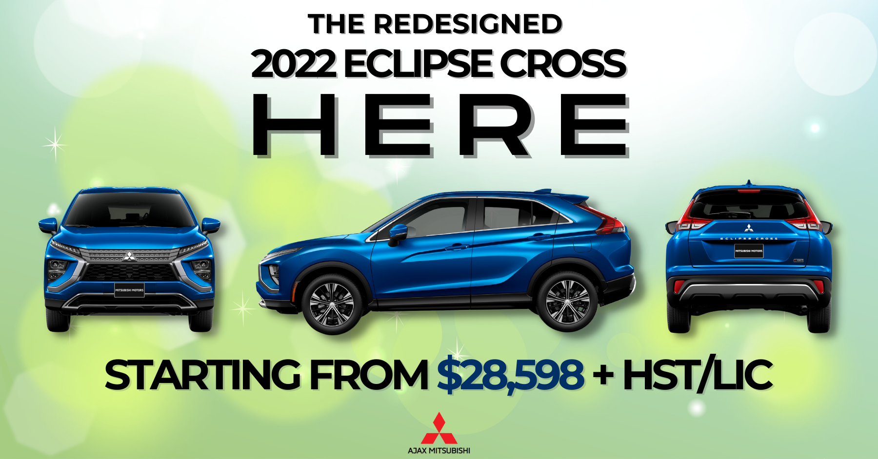 2022 Eclipse Cross, Ajax Mitsubishi