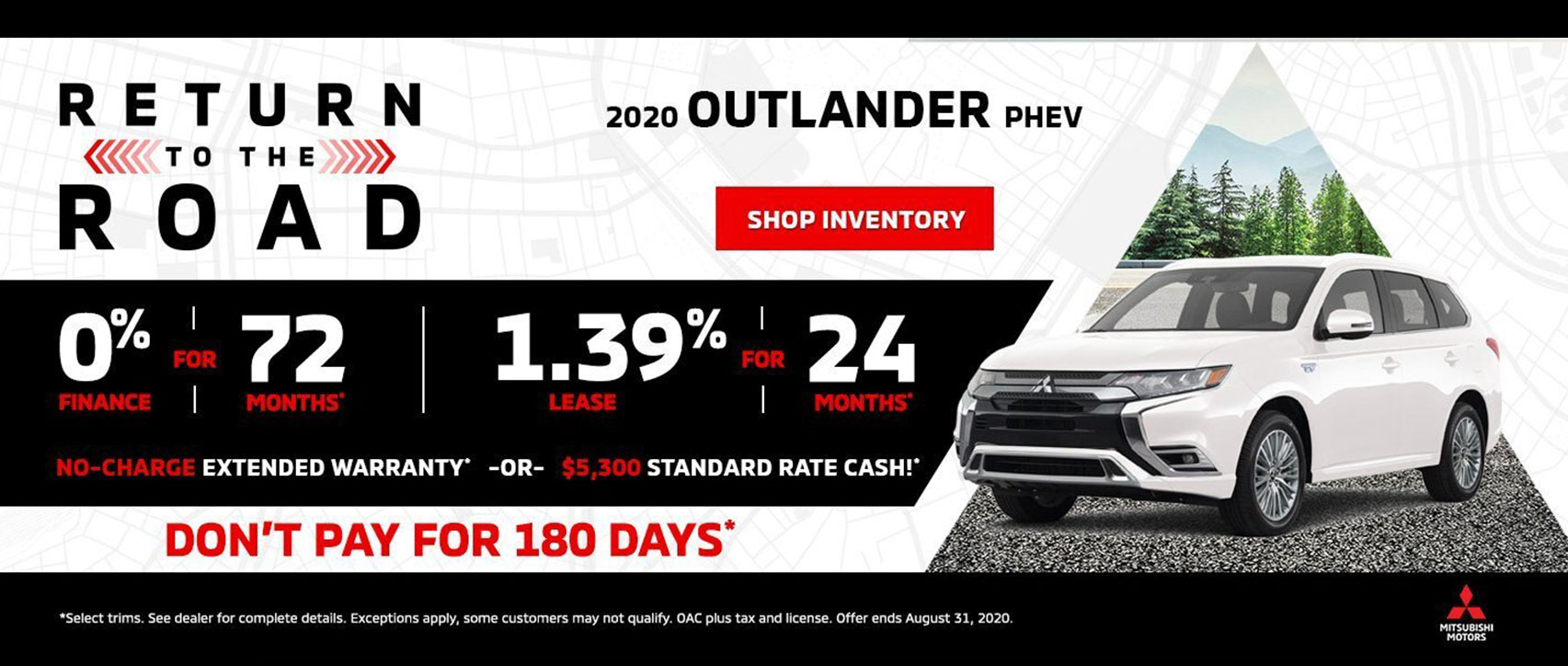 Mitsubishi Monthly Offer, Ajax Mitsubishi