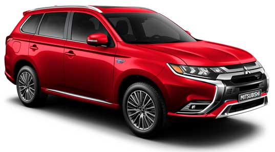 Outlander PHEV, Rouge Mitsubishi, Scarborough, Ontario
